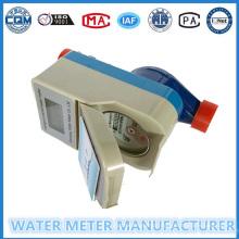 Medidor de água pré-pago Medidor de fluxo de água Digital Dn15-25