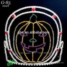 Novas coroas de feriado de dia das bruxas da tiara da aranha de strass