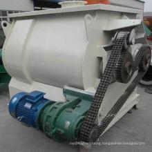 WZ zero-gravity double-axle paddle type mixer, SS 1000 watt blender, horizontal industrial powder mixer