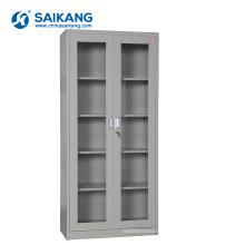 SKH052 стеклянную дверь металлическая медицинского оборудования шкаф с замком