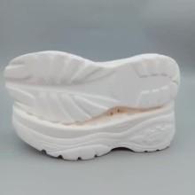 Semelles extérieures en PU blanc pour chaussures de sport