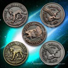 Монета изготовленная на заказ антиквариата, античная монета животных, сувенирная монета