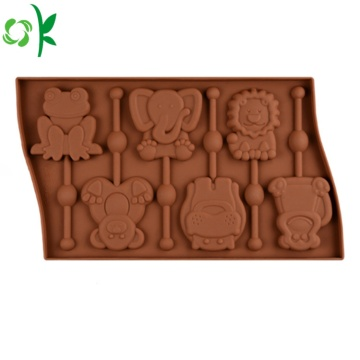 Animal Shape Silicone Chocolate Mould Dijual