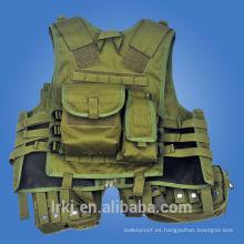 Chaleco de asalto de caza de equipo militar Chaleco de seguridad táctico de bolsillo multi