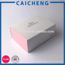 Хорошее качество бумажная коробка ручной работы OEM с рукавом для подарка