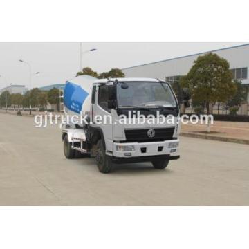 Dongfeng 4X2 unidad camión hormigonera para 3-6 metros cúbicos