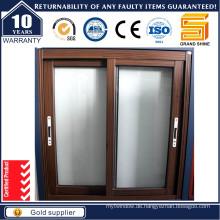 2016 Hochwertiges Aluminium- / Aluminium-Schiebefenster
