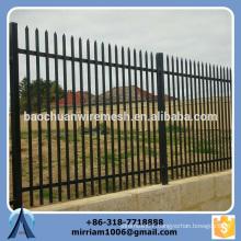 Baochuan fabulous high quality steel fence/wrought iron/aluminum fence
