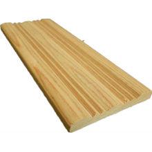 conception de moulure de porte en bois de teck