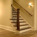 Balustrades en bois massif de chêne et escalier Design moderne résidentiel