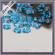 Мода Аква синий CZ камни для женщин