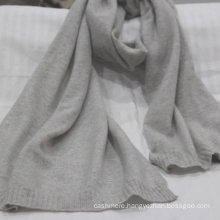 Factory supply knitted 100% cashmere scarf