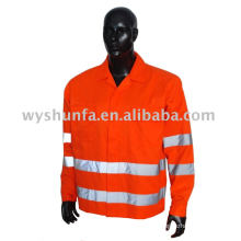 High visibility reflective safety workwear