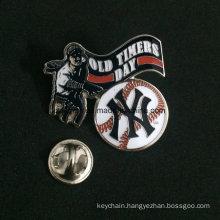 Fashion Design Reusable Blank Custom Pin Plastic and Metal Badge, Magnetic Name Badge
