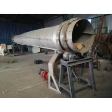External heat drum type drying furnace