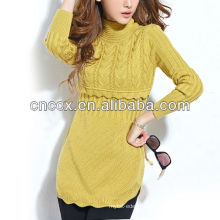 13STC5804 latest design pullover new style fashion sweater dress