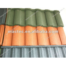 Coated Metal Roofing Of Roman Tile
