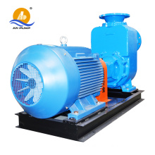self-priming pump for bentonite recycle