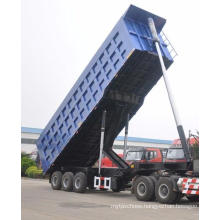 50 Ton 2 Axles Semi Trailer Truck