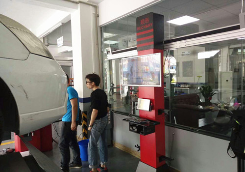 Tracking Four Wheel Alignment