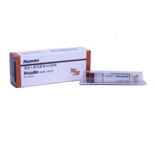 Injection d'insuline GMP 70/30, 300 UI / 3 ml