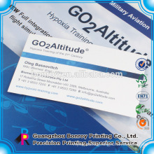 Customized A4 paper pocket presentation file folder