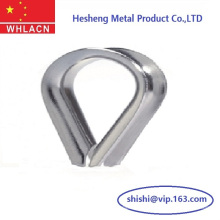 Precision Lost Wax Casting Stainless Steel Cable Thimbles