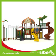 New Outdoor Jungle Gym Playground Curved Slide LE.LL.002