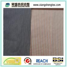 Garn gefärbtes Seiden-Baumwoll-Paj mit Streifen