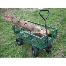 Garten-Wagen-LKW-Kipper-Dumpers 4 Rad-Maschen-Seitenverkleidungen der Hochleistungs-im Freien