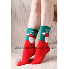Рождественский праздник леди носки праздник хлопка Носки хлопчатобумажные