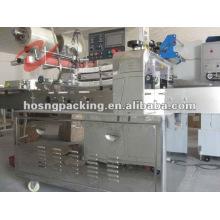 Almohadilla máquina del wrappig / máquina de embalaje horizontal de alta velocidad