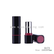 D173 Квадратные черные пластиковые пустые контейнеры для губ
