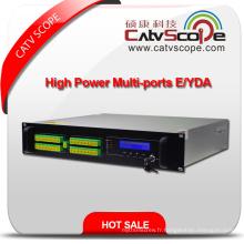 32ports High Power 1550nm 2u Erbium Ytterbium Amplificateur Optique Co-Dopé EDFA