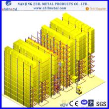 Хорошее качество Vna Pallet Rack / Промышленное хранение Металл Q235 Стеллаж для склада