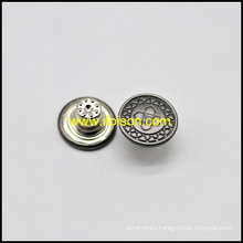 Engaved Logo Jeans Button for Trousers