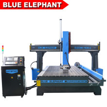 1530 4 Axis CNC Router with a Rotary Device for Advertising Production Alucobond, PVC, Acrylic, Wood