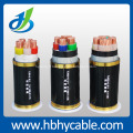 Câble d'alimentation isolé par PVC de 1KV, câble d'alimentation isolé par XLPE