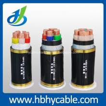 0.6/1KV  Copper Conductor PVC insulated PVC Sheathed Power Cable