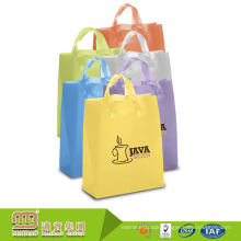 Customized acceptable gravure printing shopping packing use HDPE plastic bags carrier