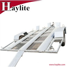 Customized Triple Rail Motorcycle trailer for 3 motorbikes