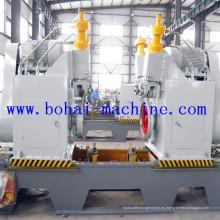 Máquina de curling de borde para la producción de barril de acero