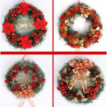 National Tree Decorativa Colecção Natal Red Mixed Wreaths (C-6)