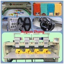 China Shenzhen Elucky máquina de bordar de quatro cabeças de alta velocidade para bordados de bonés profissionais com preço barato