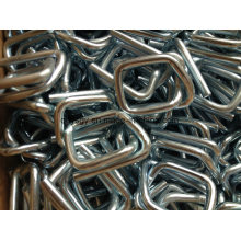Galvanized Strapping Buckle/Wire Buckle with 19mm Composite Strap