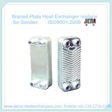 Intercambiador de calor de placa soldada para reemplazar Sondex
