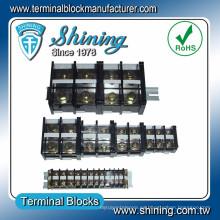 TE-040 600V 40A M5 Tornillo DIN Rail Montaje superficial Terminal Conector