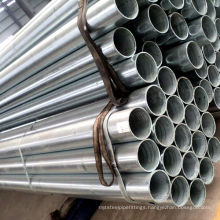 Galvanized Threaded Ends Water Pipe