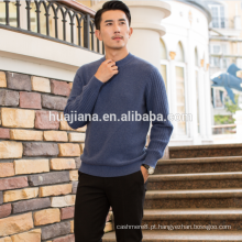 Camisola de caxemira espessa do homem da moda de 2017