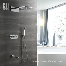 Wall Mounted Four Function Concealed Shower Faucet